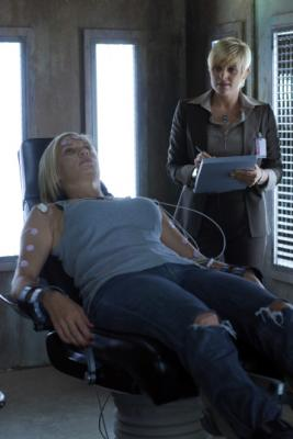 "BIONIC WOMAN - ""Faceoff"" Katee Sackhoff as Sarah Corvus, Molly Price as Ruth Truewell"