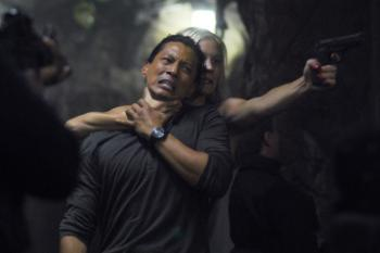 "BIONIC WOMAN - ""Faceoff"" Katee Sackhoff as Sarah Corvus, Will Yun Lee as Jae Kim"