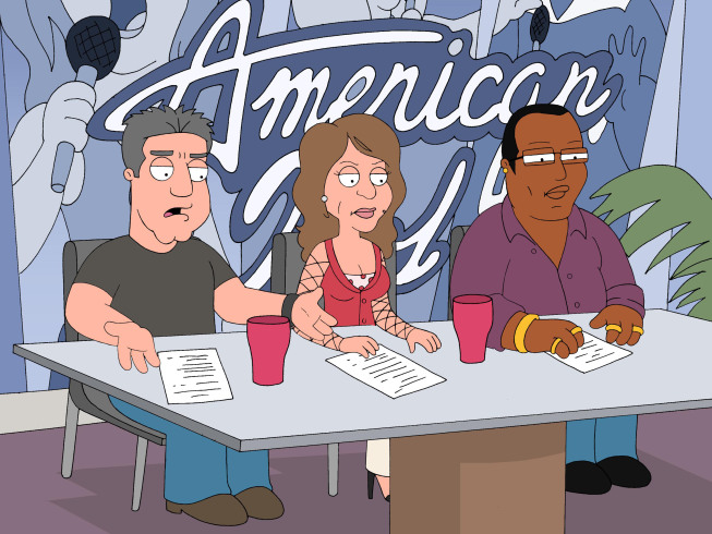 randy jackson american idol family. FAMILY GUY – AMERICAN IDOL