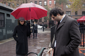 "LAW AND ORDER - Alana De La Garza as Connie Rubriosa and Jeremy Sisto as Detective Cyrus Lupo in ""Driven"""