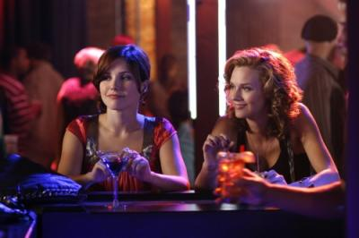 "ONE TREE HILL - Sophia Bush as Brooke and Hilarie Burton as Peyton Sawyer ""Racing Like a Pro"""
