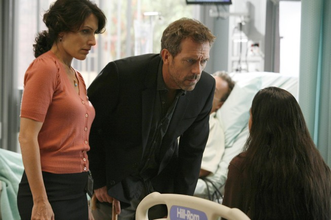 Cuddy And House. HOUSE: Cuddy (Lisa Edelstein,
