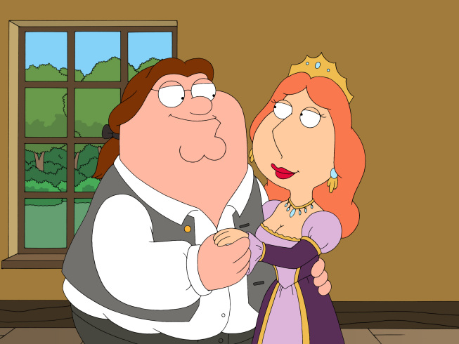 On family guy what does peter call his own country when he finds his house isn't in the u.s