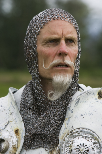 Matt Frewer as The White Knight in Alice