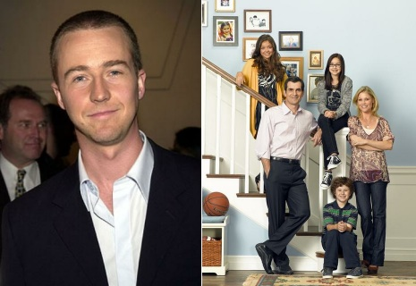 edward norton to guest on modern family tv equals