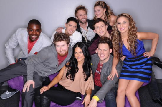 american idol contestants 2011 top 9. American Idol Top 9