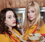 2 broke girls cbs show cat