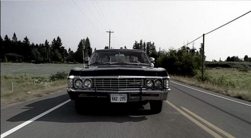 Supernatural - Impala - Back in Black