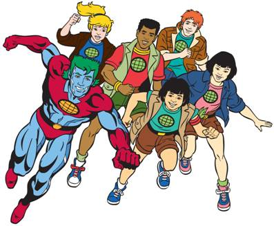 Captain Planet And The Planeteers Summoned By Cartoon