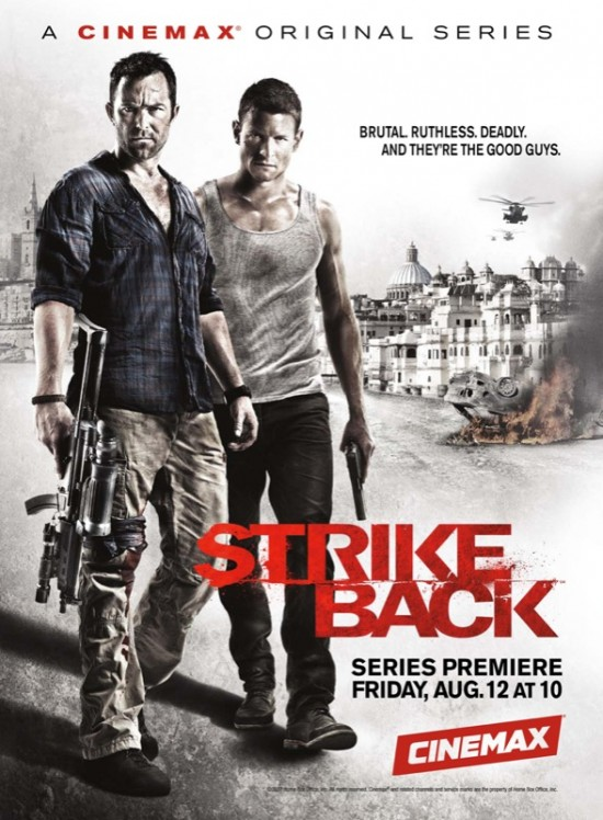 strike back cinemax poster