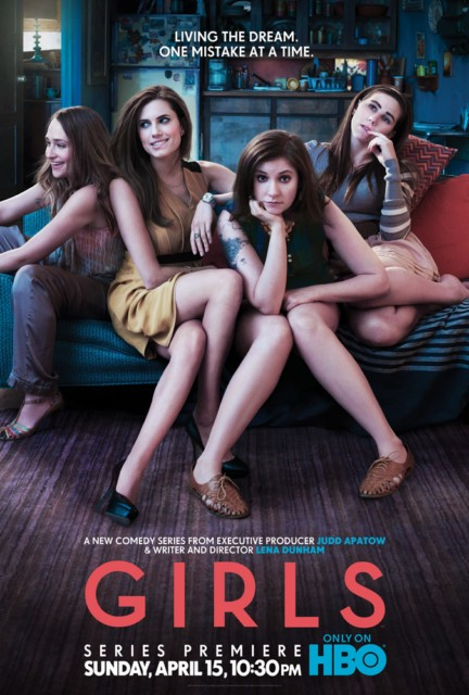 Official Poster: 'Girls' (HBO) with Lena Dunham | TV Equals