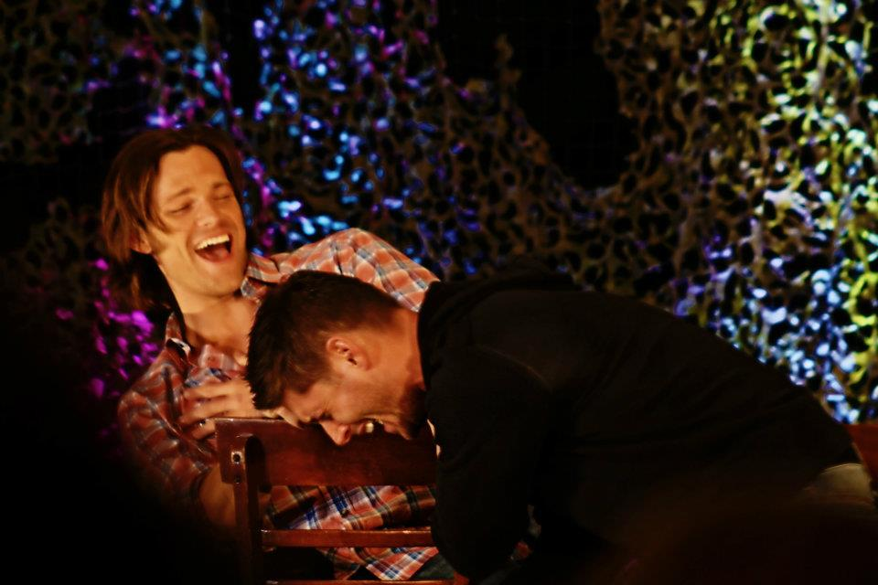 Supernatural Burbank Convention 2012 Jared And Jensen