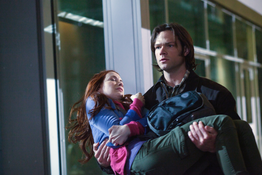 supernatural the girl with the dungeons and dragons