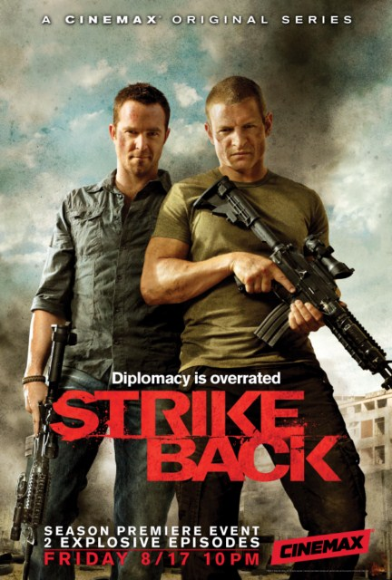 Strike Back Season 2 Official Poster