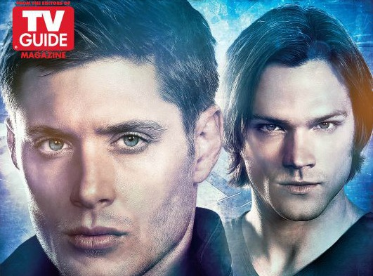 Supernatural TV Guide Cover Comic Con 2012