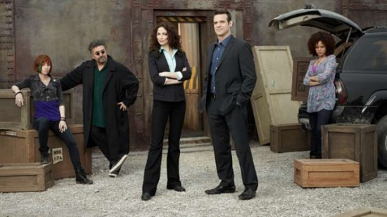 Claudia, Artie, Myka, Pete and Leena - Warehouse 13