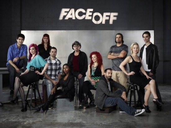FACE OFF -- Season: 3 -- Pictured: -- (Photo by: Tommy Garcia/Syfy)
