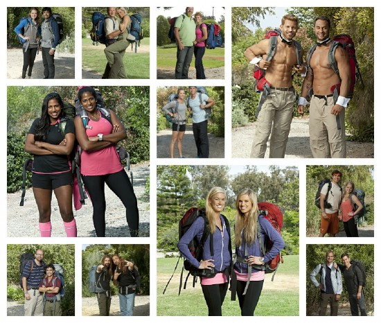The Amazing Race Season 21 Cast 2012