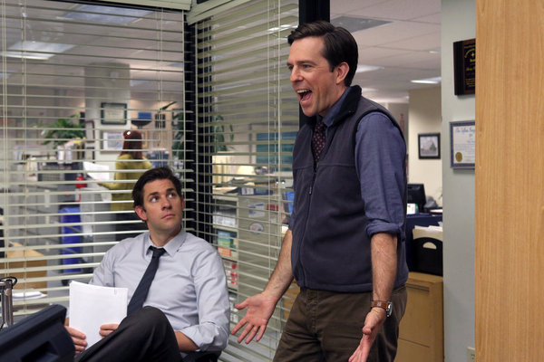The office season 9 episode 3 andy 39 s ancestry tv equals - The office season 4 episode 14 ...