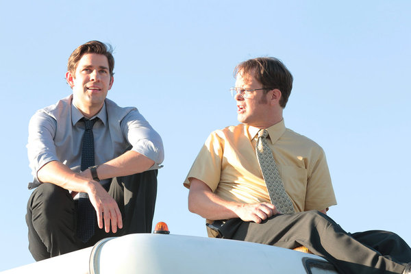 The office season 9 episode 4 work bus tv equals - The office season 4 episode 14 ...