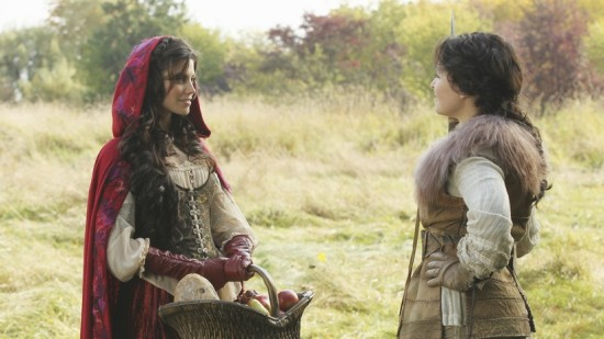 Red Riding Hood and Snow White - Once Upon a Time