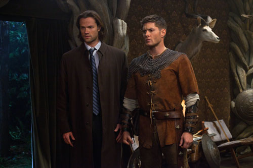 Supernatural Season 8 Episode 11 Larp and the Real Girl