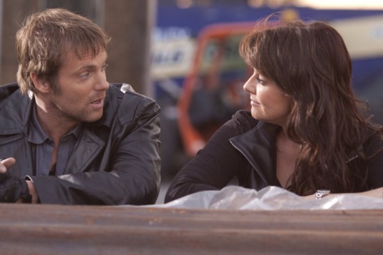 Michael Shanks and Amanda Tapping - Sanctuary