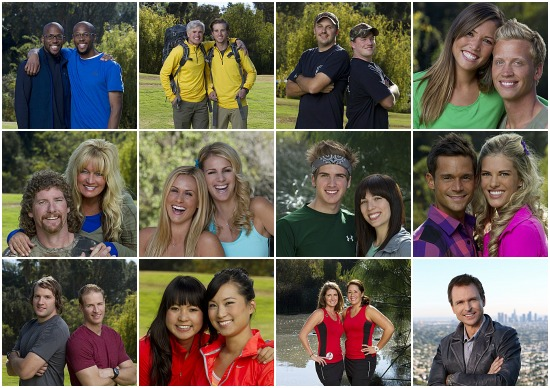 The Amazing Race 2013 Season 22 Contestants