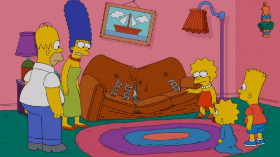 The Simpsons Season 24 Episode 18 Pulpit Friction 2