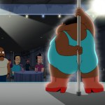"The Cleveland Show Season 4 Finale 2013 ""Crazy Train; Wheel! Of! Family!"""