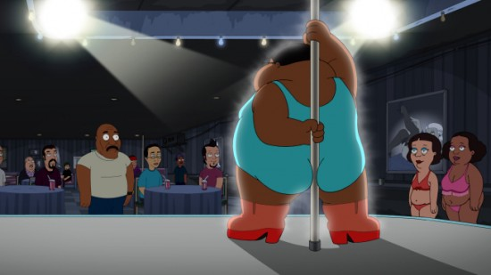 The Cleveland Show Crazy Train