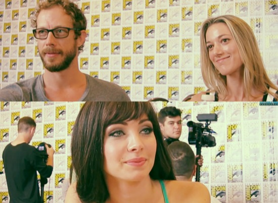 lost girl comic-con 2013 interviews
