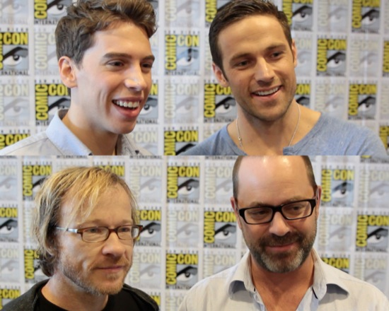orphan black interviews comic-con 2013 01