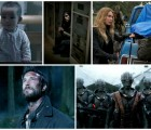 Alexis, Lourdes, Maggie and Hal, Tom, Cochise - Falling Skies