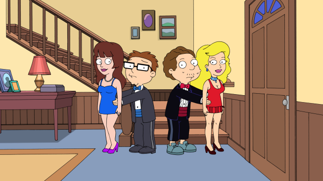 """American Dad Season 9 Episode 1 """"Steve and Snot's Test"""