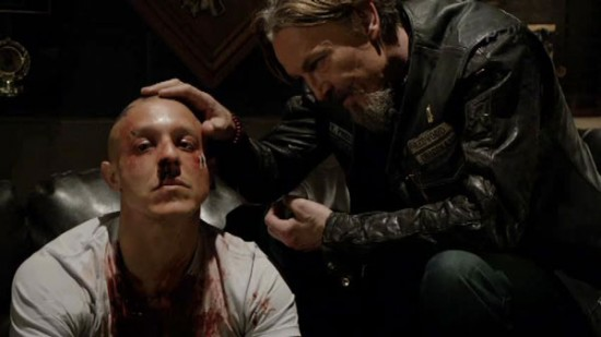 sons of anarchy season 6 premiere straw review tv equals. Black Bedroom Furniture Sets. Home Design Ideas