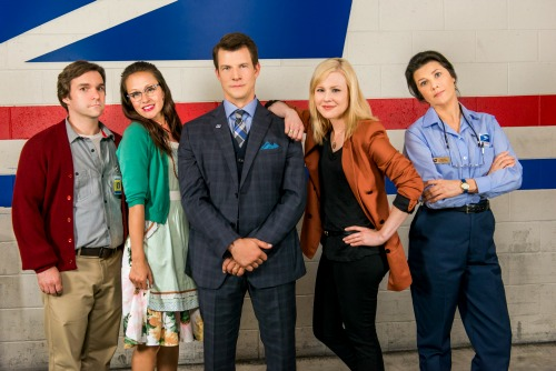 Signed Sealed Delivered Cast NEW