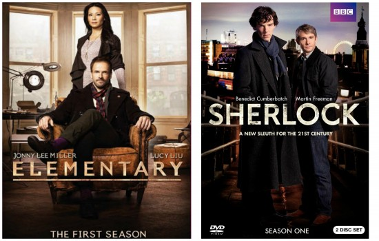 Sherlock and Elementary DVD