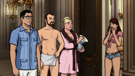 Archer season 5 episode 10 archer vice palace intrigue - Archer episodes youtube ...