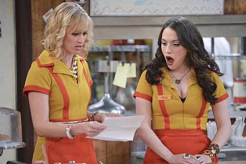 Kat dennings beth behrs 2 broke girls s05e11 - 3 part 10