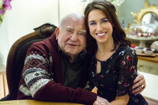 all of my heart hallmark starring lacey chabert brennan elliott and ed asner tv movie tv. Black Bedroom Furniture Sets. Home Design Ideas