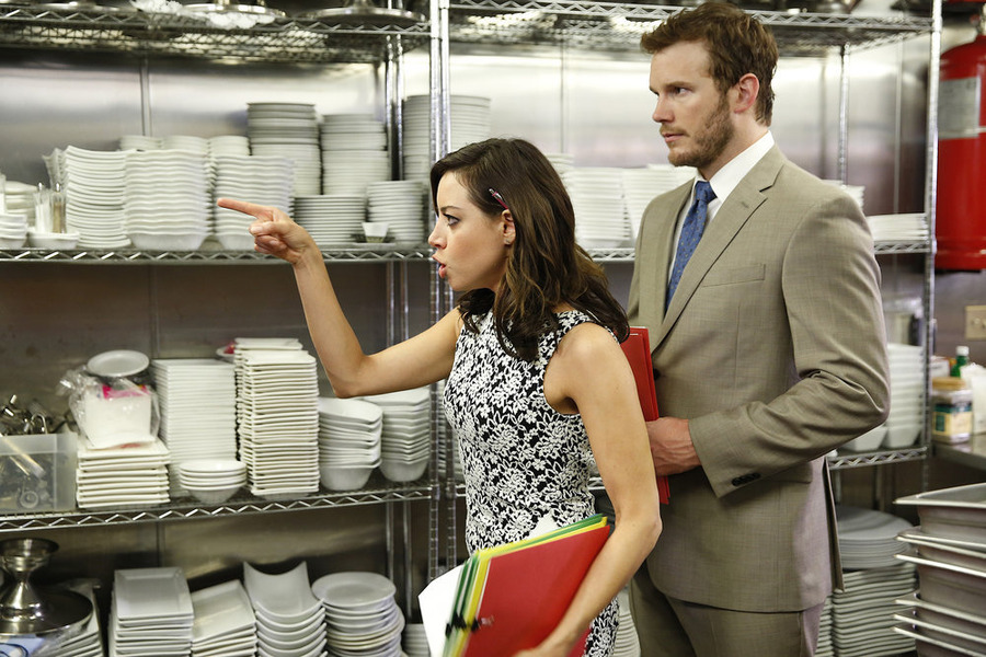 Parks and recreation quot donna and joe quot season 7 episode 7 tv equals