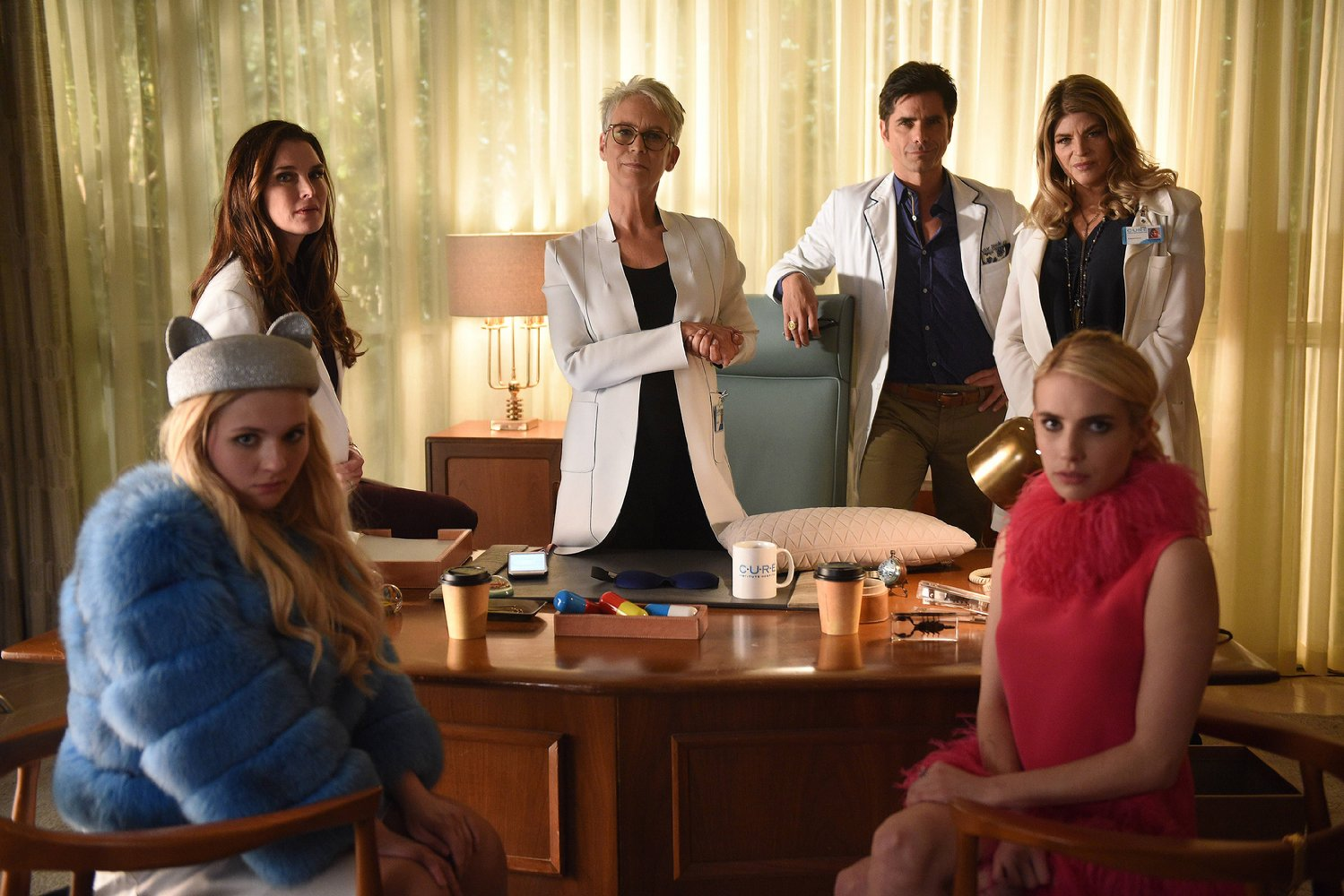 scream queens drain the swamp review season 2 episode 10 tv equals